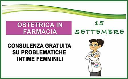 OSTETRICA IN FARMACIA 28 GIUGNO 2016