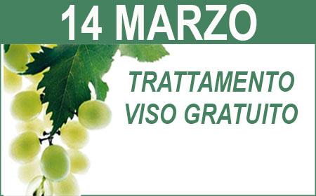 TRATTAMENTO VISO GRATUITO 14 MARZO