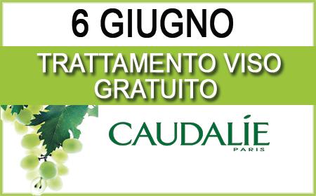 TRATTAMENTO GRATUITO CAUDALIE - 6 GIUGNO