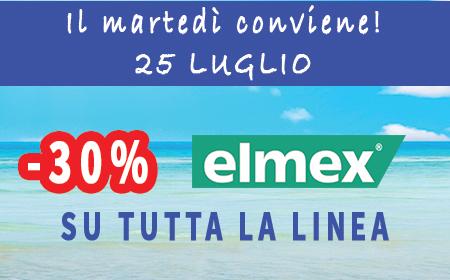 PROMOZIONE ELMEX MARTEDÌ 25 LUGLIO